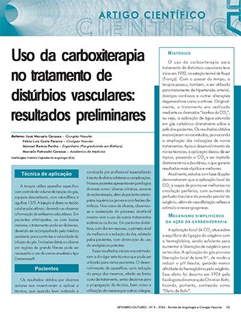 ESTUDIO CIENTIFICO CARBOXITERAPIA